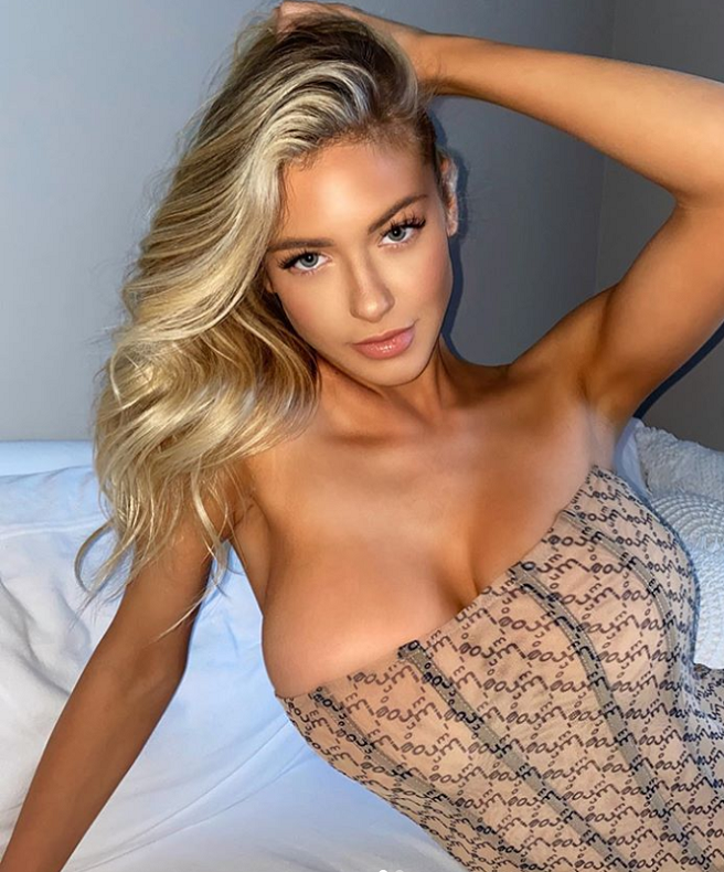 Hot blonde models making love Blonde Hannah Palmer Makes Heads Turn With Hot Photo On Instagram