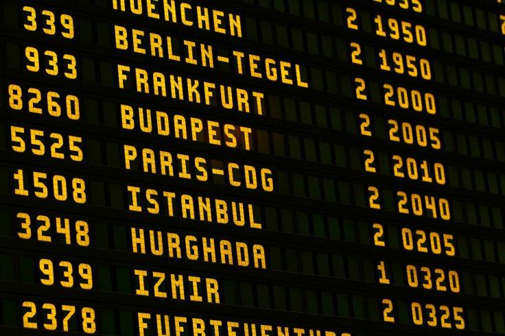 Flight timetable