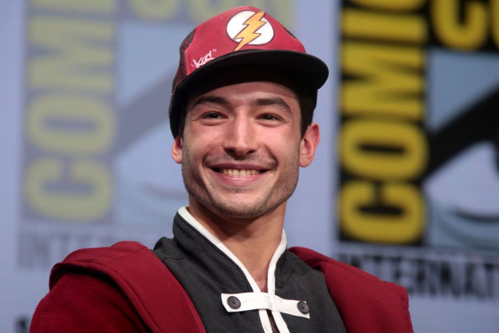 Actor Ezra Miller appears to choke woman in video