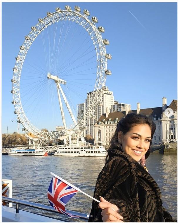 Miss England 2019 Dr Bhasha Mukherjee