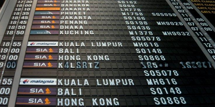 Airline timetable