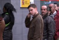 Jobless in queue