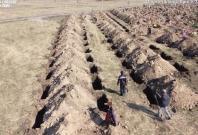 Ukraine mass grave