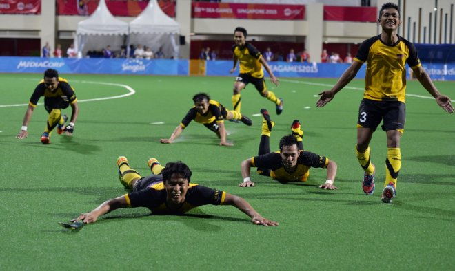 Malaysian hockey team