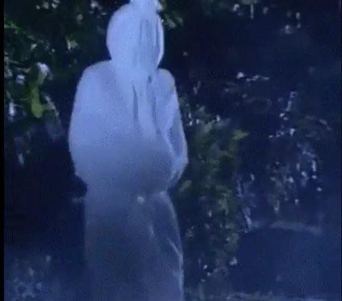 Pocon shrouded ghost