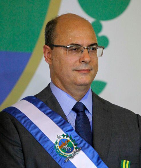Wilson Witzel, Governor of Rio de Janeiro, Brazil