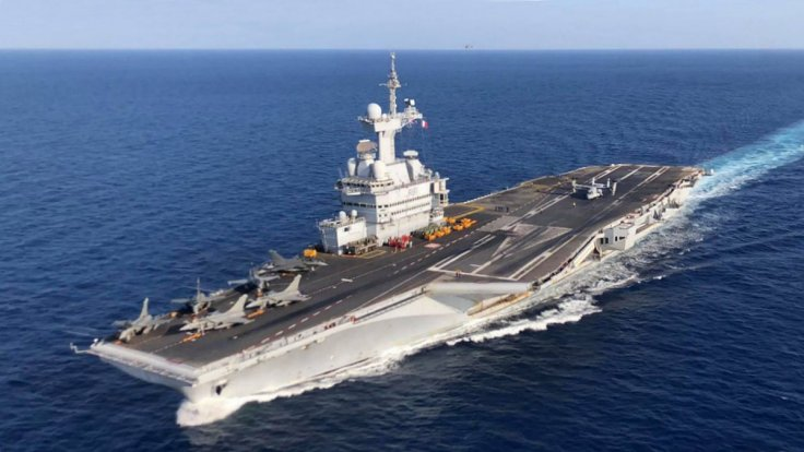 France's Charles-de-Gaulle aircraft carrier