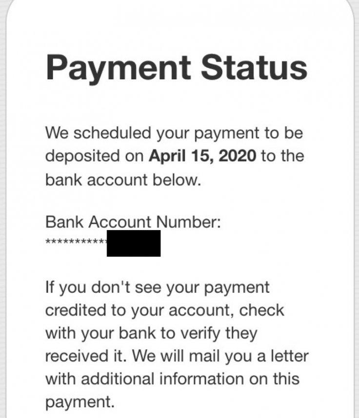 payment status