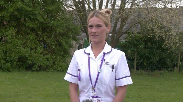 Nurse Amy Hall