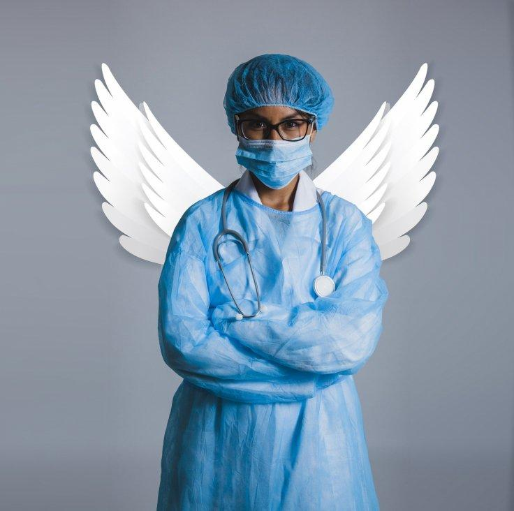 Coronavirus Nurse Angel