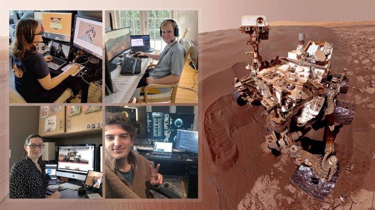Curiosity Rover team