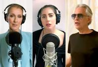 Céline Dion, Lady Gaga, Andrea Bocelli