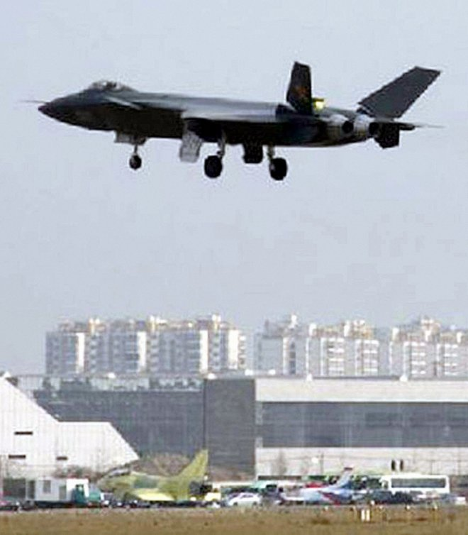 China to unveil its J-20 stealth fighter at Zhuhai Air Show