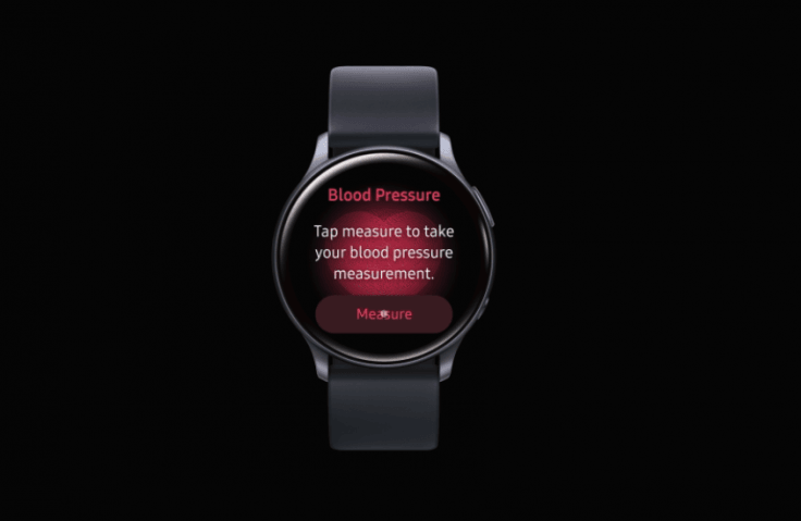 Galaxy Watch Active 2 blood pressure monitoring