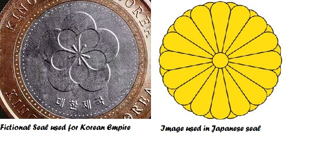 Seals Japanese empire, fictional Korean empire