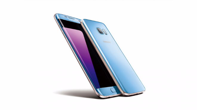 Coral Blue Galaxy S7 Edge