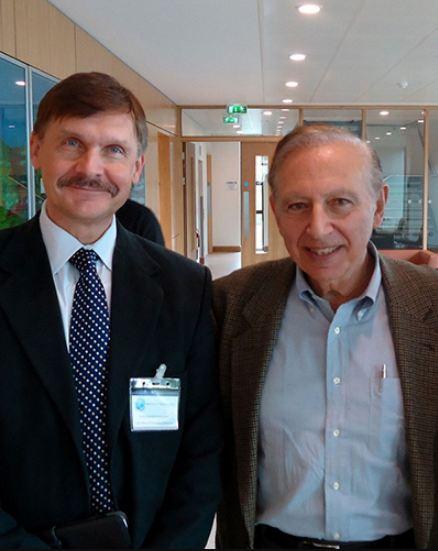 Dr. Konstantin Chumakov and Dr. Robert Gallo