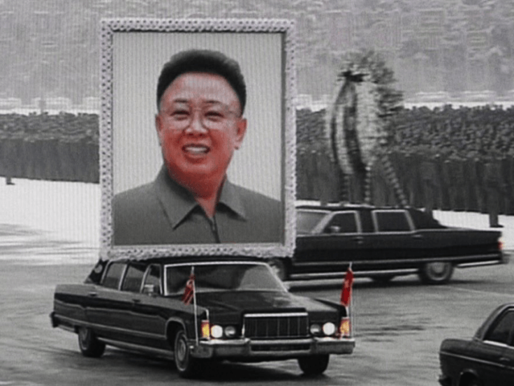 Kim Jong-il's funeral parade
