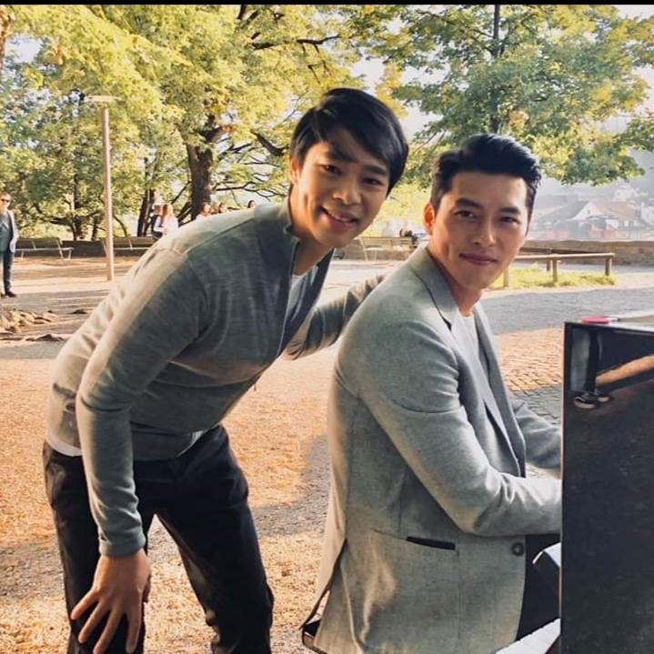 See Siang Wong with Hyun Bin