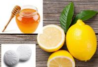 Lemon Aspirin honey
