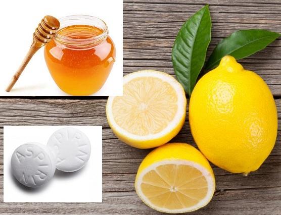 Lemon Aspirin honey