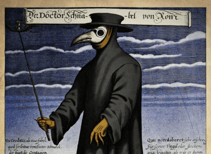 17th century plague doctor
