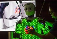 Artificial robot skin