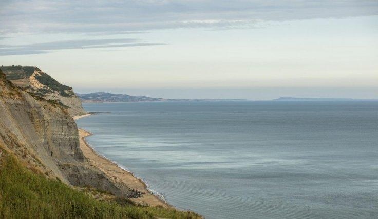 Coastline near Charmouth in Dorset