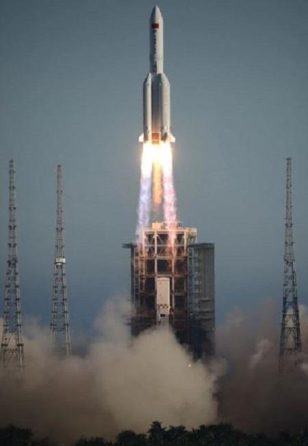 Long March-5B rocket