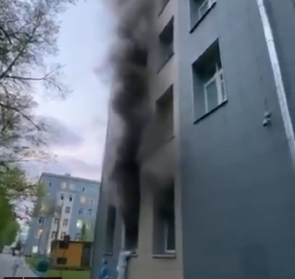 1 dead after fire breaks out at Moscow hospital treating COVID-19 patients