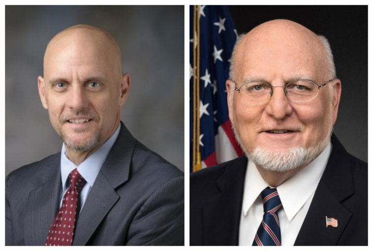 Stephen Hahn and Robert Redfield