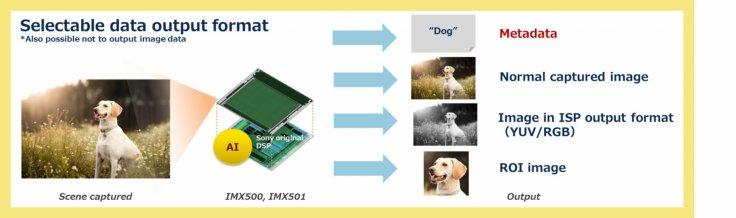 Sony smart sensor IMX500
