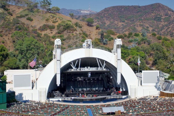 Hollywood Bowl ampitheatre