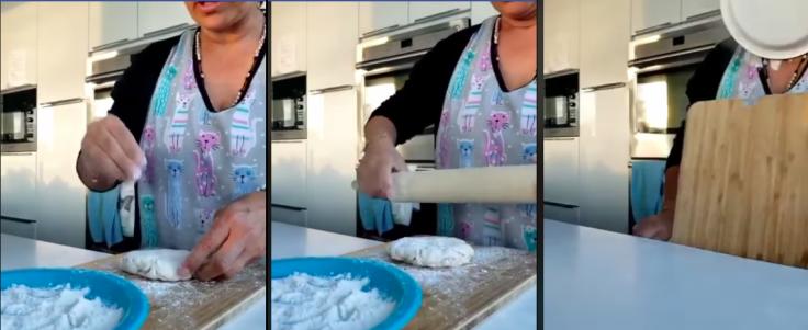 Spanish woman's bread baking fail