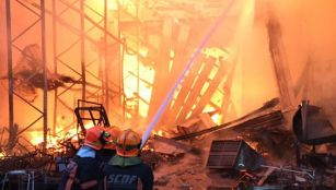 Singapore fire