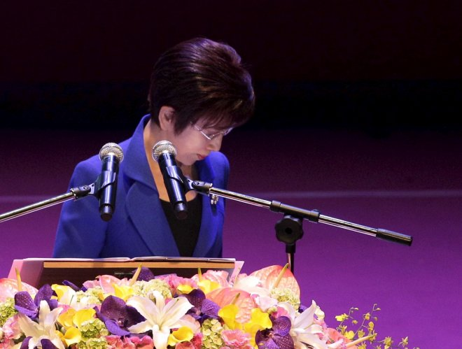 Taiwan's KMT leader Hung Hsiu-chu visits Xi Jinping, upholds one-china principle