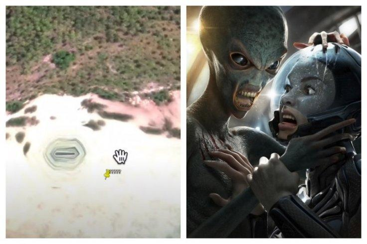 alien base indonesia
