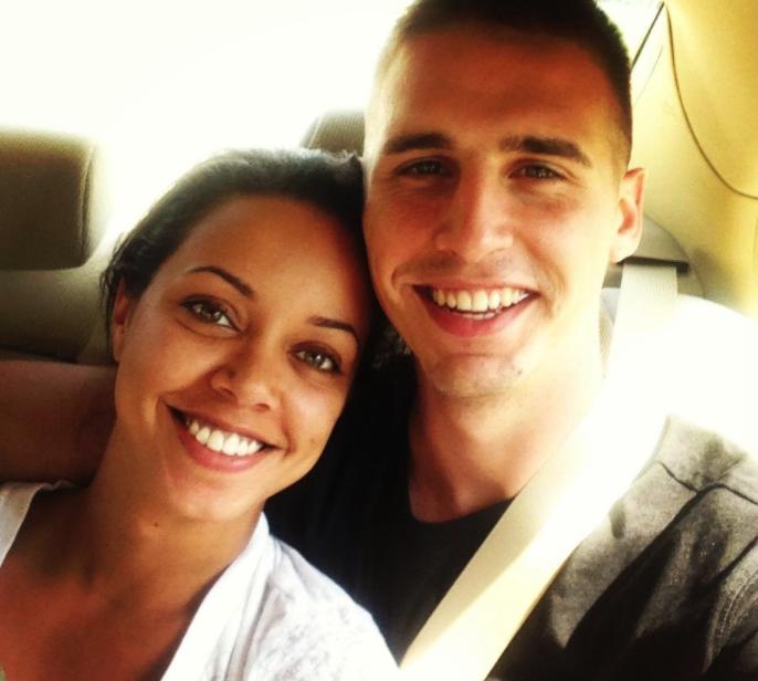 Hagen Mills and Erica Price