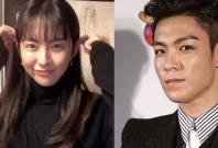 Kim Ga Bin and Bigbang's T.O.P.