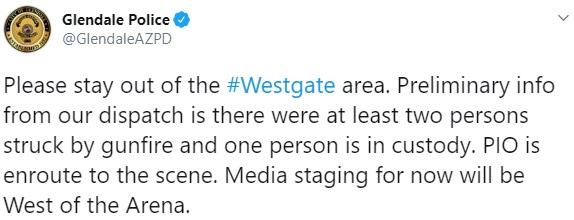 Glendale Police Tweet