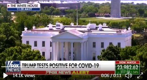 Doctored video Trump COVID-19