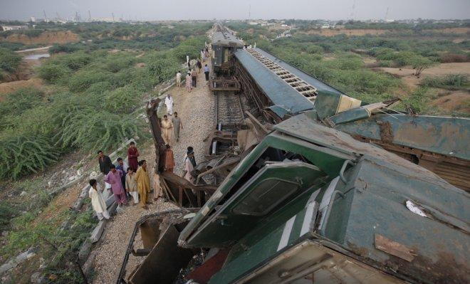 Pakistan train collision kills at least 16, more than 40 injured