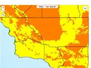 California heat wave