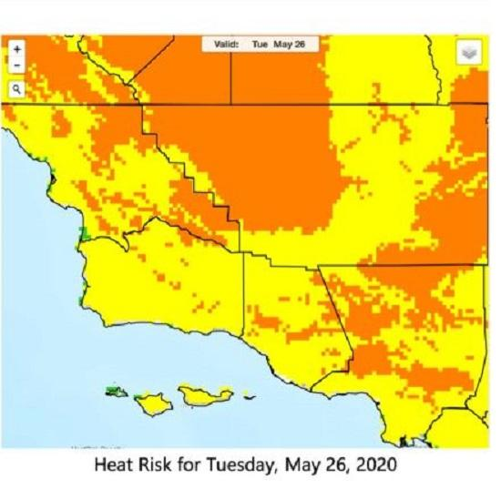 California heat wave