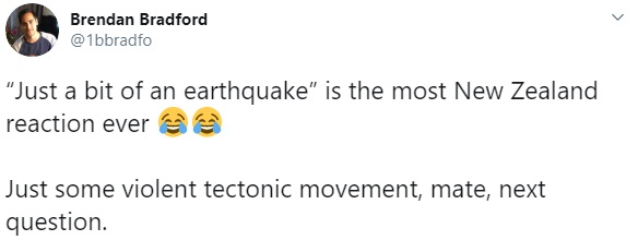 Jacinda Ardern earthquake