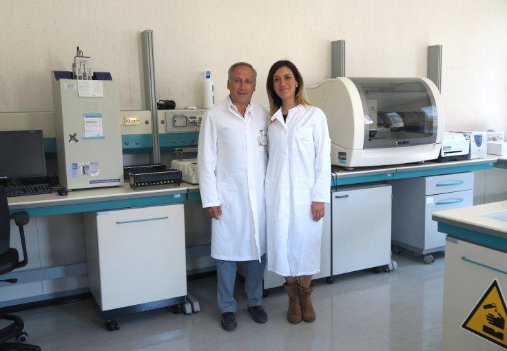 Prof. Caruso and Dr. Caccuri