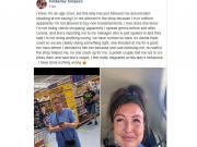 Kimberley Simpson's Facebook post