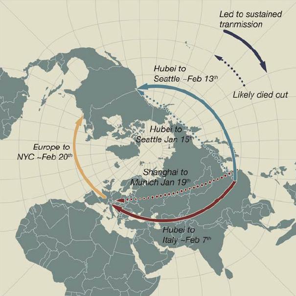 coronavirus Europe and US