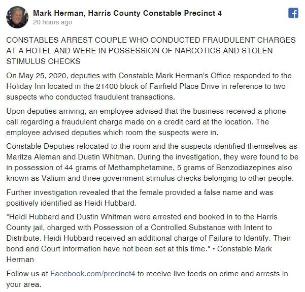 Harris County Constable Precinct 4