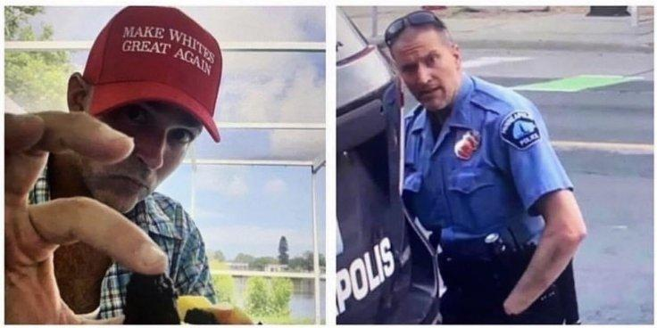 Minneapolis cop protest